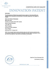 Enhanced Solar Module.Innovation cert.jp