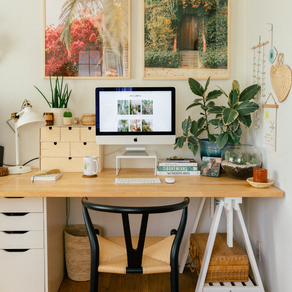 Create a productive at home workspace