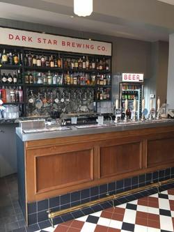 Main bar all stocked up