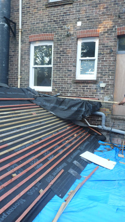 A few roofing repairs