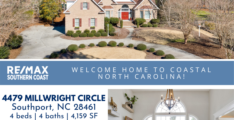 This gorgeous home welcomes you with a circular driveway, tasteful landscaping and an elegant foyer.