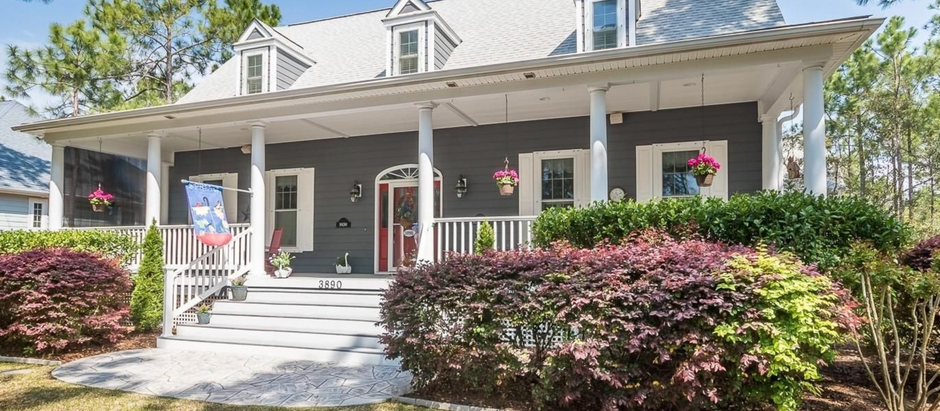 Low Country Style with a Large Cool Front Porch in St James