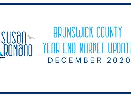 Brunswick County Year End Market Update - December 2020