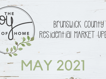 Brunswick County real estate sales through May well ahead of last year's record pace
