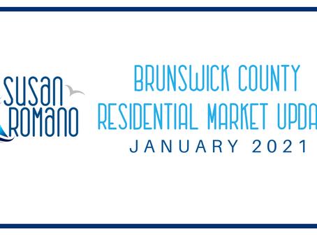 Brunswick County Market Update - January 2021
