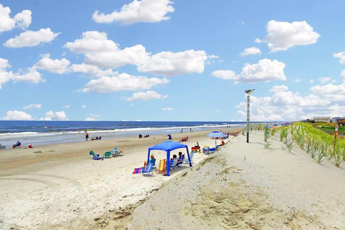 Oak Island beach