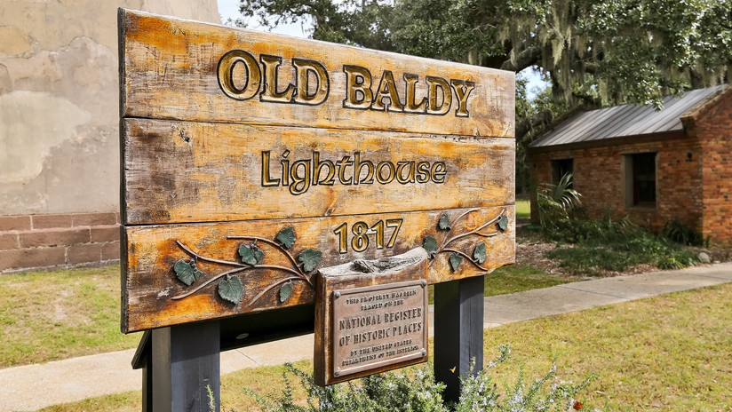 Old Baldy sign