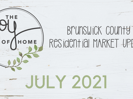 Brunswick County sees higher real estate prices, fewer homes sold in July