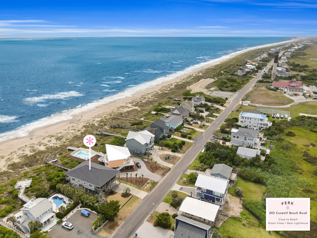 The Gallery - 203 Caswell Beach Road, Caswell Beach, NC 28465