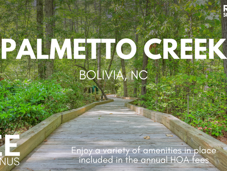 Palmetto Creek • Bolivia, NC