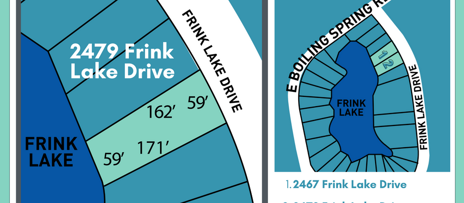 Ready to build? 2479 Frink Lake Drive