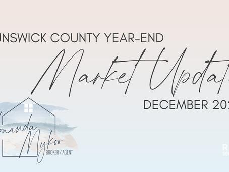 Brunswick County January Market Stats remain impressive - January 2021