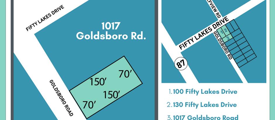 Ready to build? 1017 Goldsboro Road
