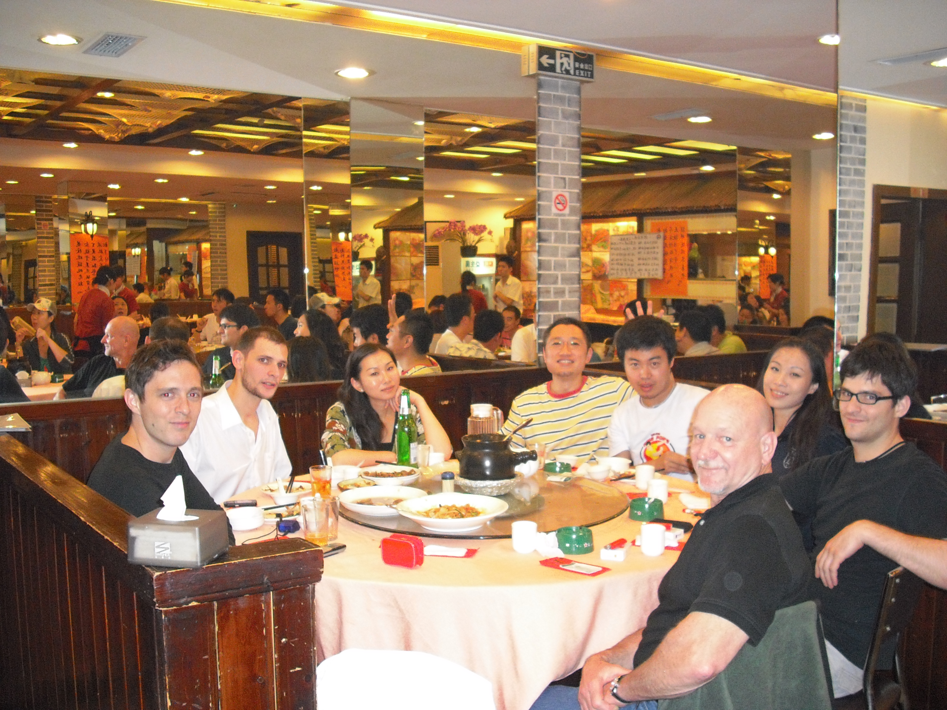 Dinner w/Possicobilities, China