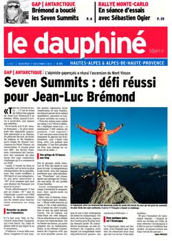 Article Dauphiné 17.12.14
