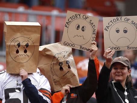 Cleveland Browns Fans Circa 2017