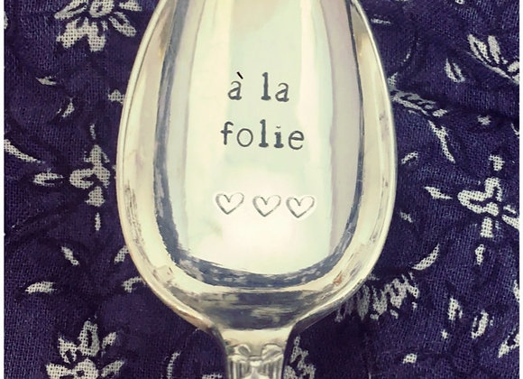 """Cuillère a café  """" à la folie ❤️❤️❤️ """""""