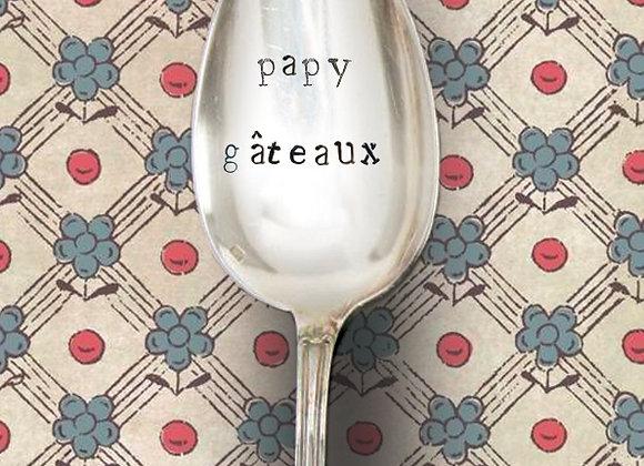 """Cuillère a café  """" papy gâteaux """""""