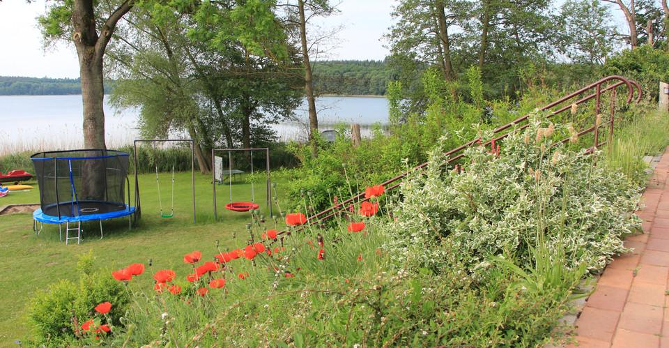 Gemeinsamer Gartenbereich