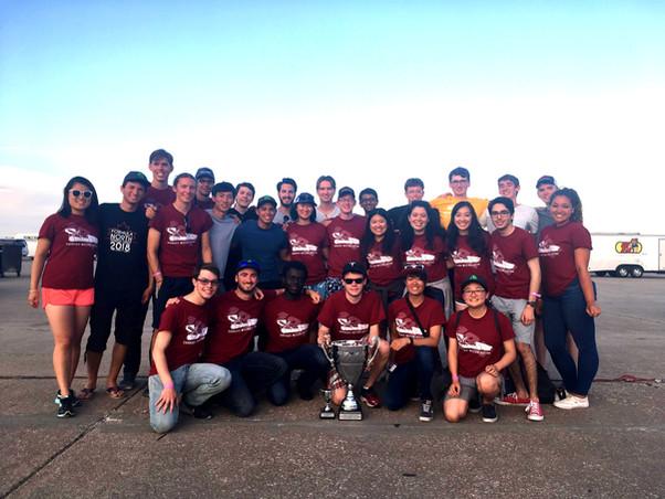 Carnegie Mellon Racing wins the 2018 Formula SAE Electric Championship!