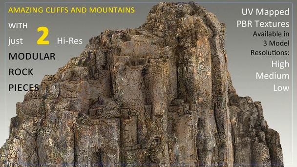 Sharp Modular Rocks Kit