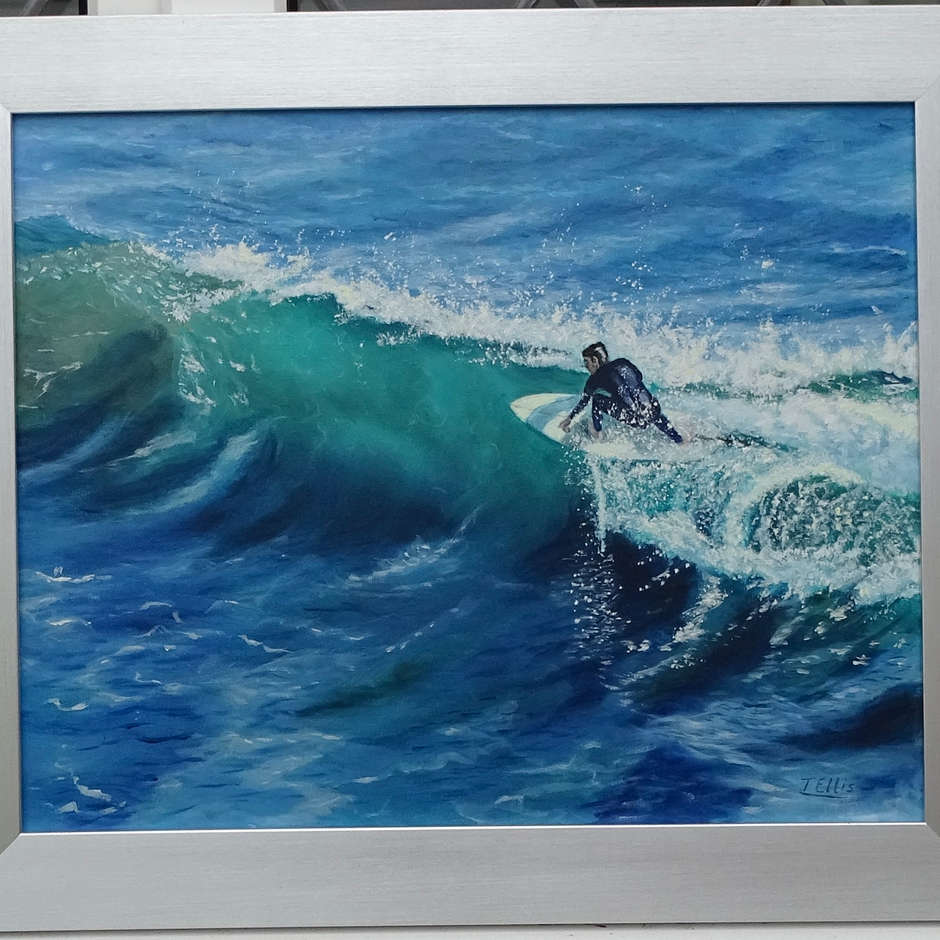 Riding the Wave/Therese Ellis