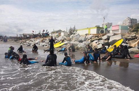 Paddle Battle und Valpo Surfproject