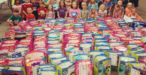 Birthday Bags for Foster Children