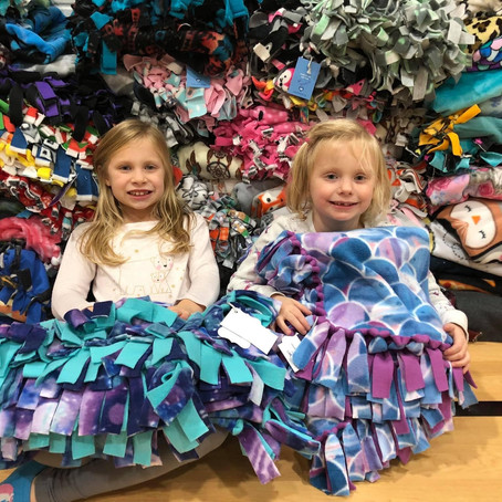 Fifth Annual No Sew Fleece Blanket Event