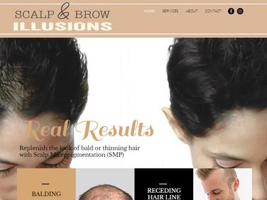 Scalp & Brow Illusions