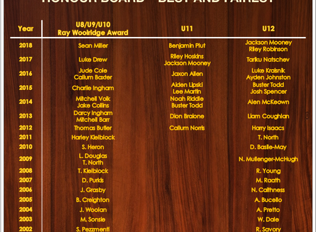 Honour boards now online