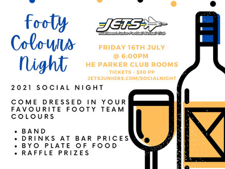 Book Tickets for the Footy Colours Social Night! (Event Postponed)