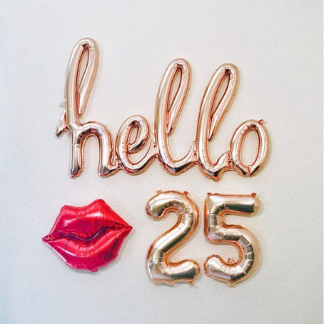 25 Things I Have Learned by 25