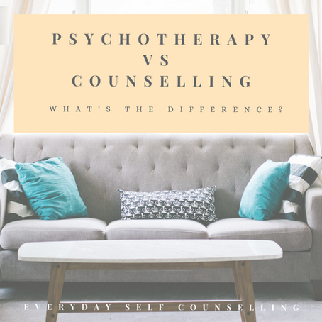 Psychotherapy vs. Counselling: What's the Difference?