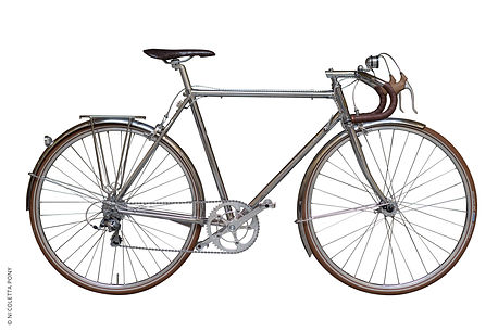 randonneur the globetrotter bicycle of 43 Milano
