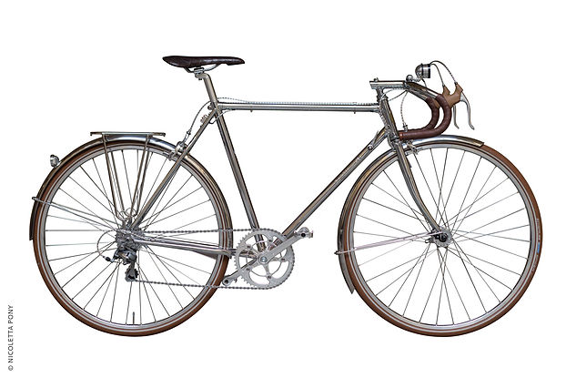 randonneur a vintage touring bicycle by 43 Milano