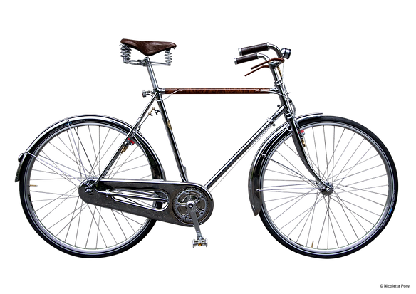 Downtown a classic luxury bicycle