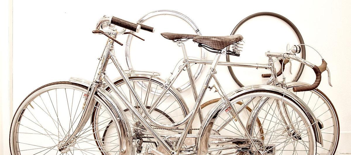 engravings frame of 43 Milano bicycle