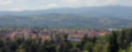 Vue panoramique de la ville du Péage de Roussillon