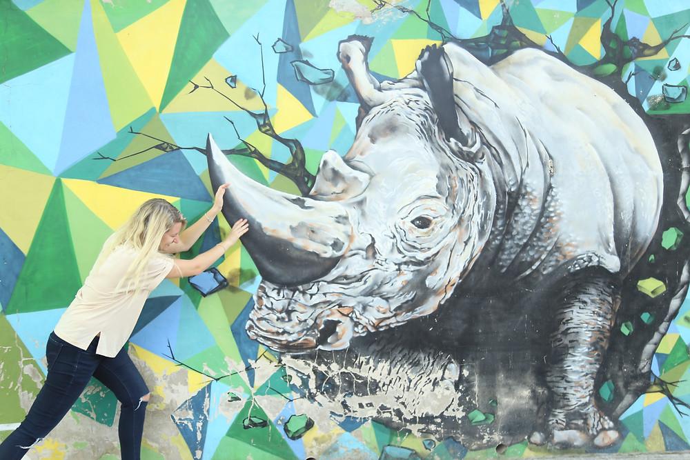 Real Unicorns have curves #rhinolife