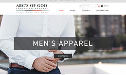 ABC'S OF GOD APPAREL Christian Apparel Clothing Line Company With A Chr...