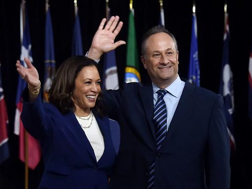 Vice President-elect Kamala Harris and incoming second gentleman Doug Emhoff get COVID-19 vaccine