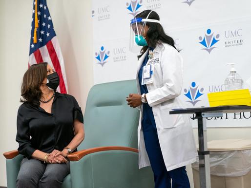 UMC nurse who administered Kamala Harris's vaccine