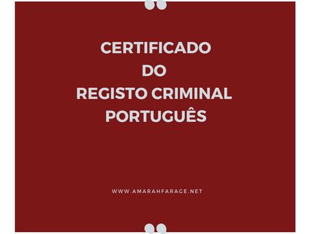 Antecedentes Criminais em Portugal