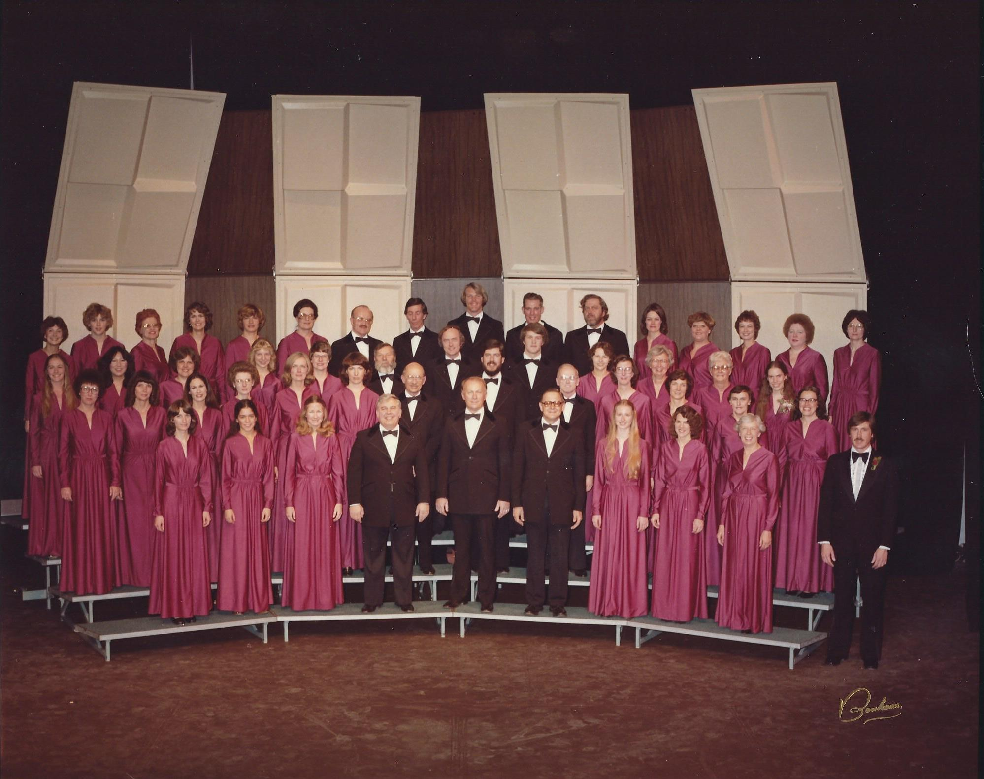 The Chorale's past, in pics!