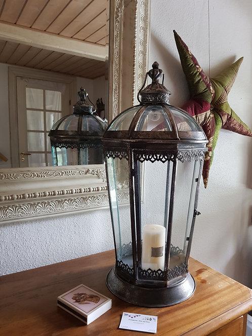 Stor 8 kantet lanterne