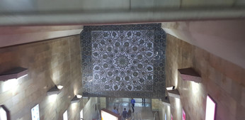 Metro Station in Tashkent