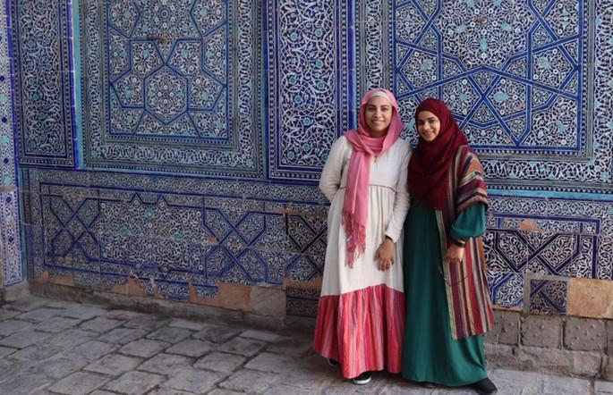 Esra Alhamal & Samira Mian - Uzbekistan Pattern Tour 2021
