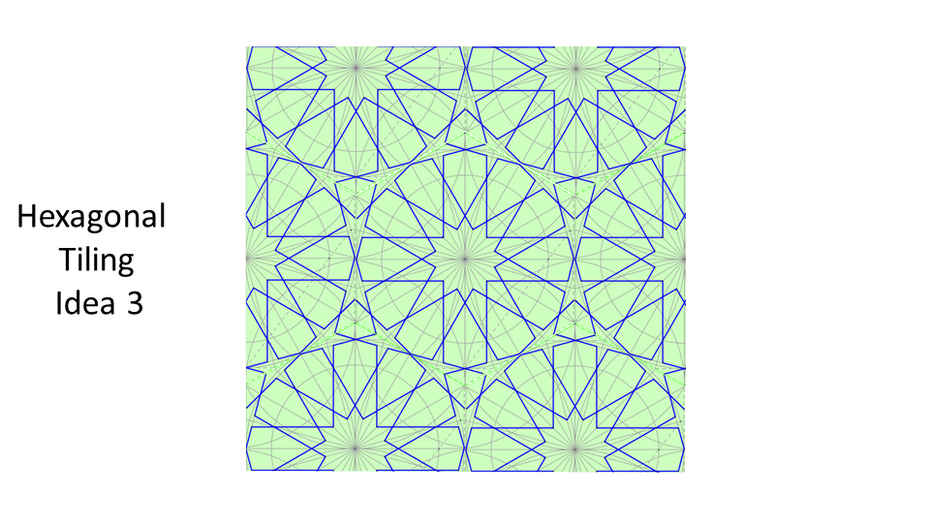 One Construction, two tiles and many outcomes