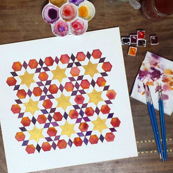 Done diddly done._I like it, but its too darn square, these hexagons are shouting at me to go all ho